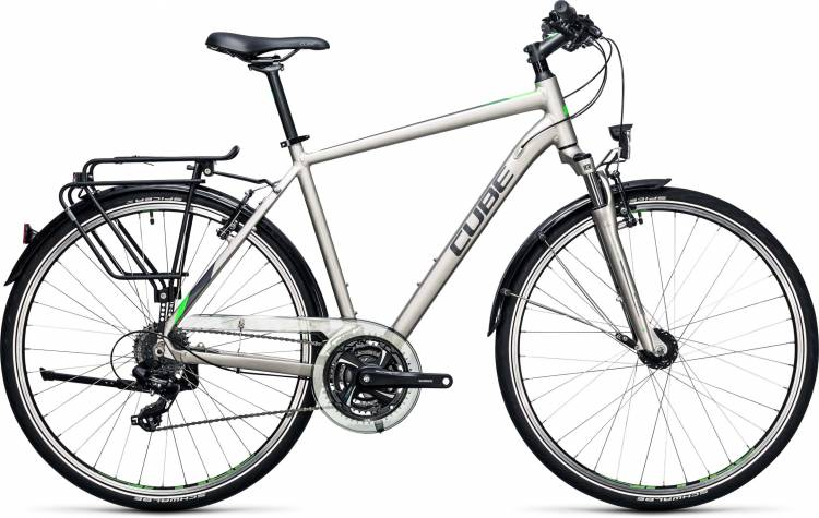 Cube Touring silver n flashgreen 2017