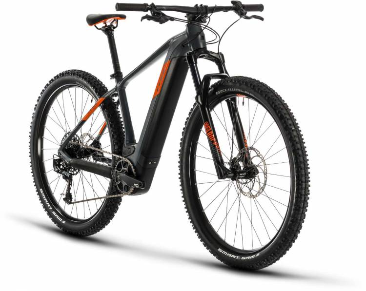 Cube Reaction Hybrid SL 625 29 grey n orange 2020 - E-Bike Hardtail Mountainbike
