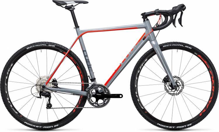 Cube Cross Race Pro grey n flashred 2017 - Cyclocross