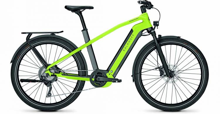 Kalkhoff Endeavour 7.B Move diamondblack/integralegreen matt (Diamond) 2020 - E-Bike Trekkingrad Her