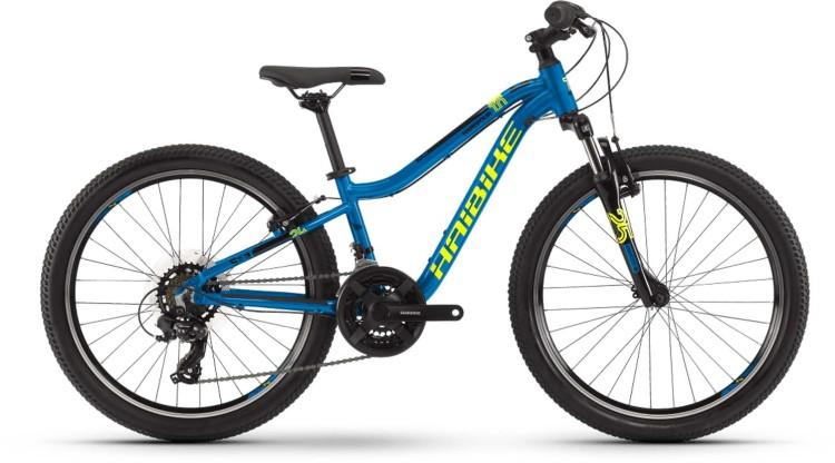 "Haibike Seet HardFour 1.0 24"" blau/gelb/schwarz 2021 - Kinderrad 24 Zoll"