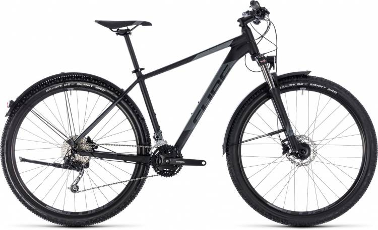 Cube Aim SL Allroad black n grey 2018 - Hardtail Mountainbike