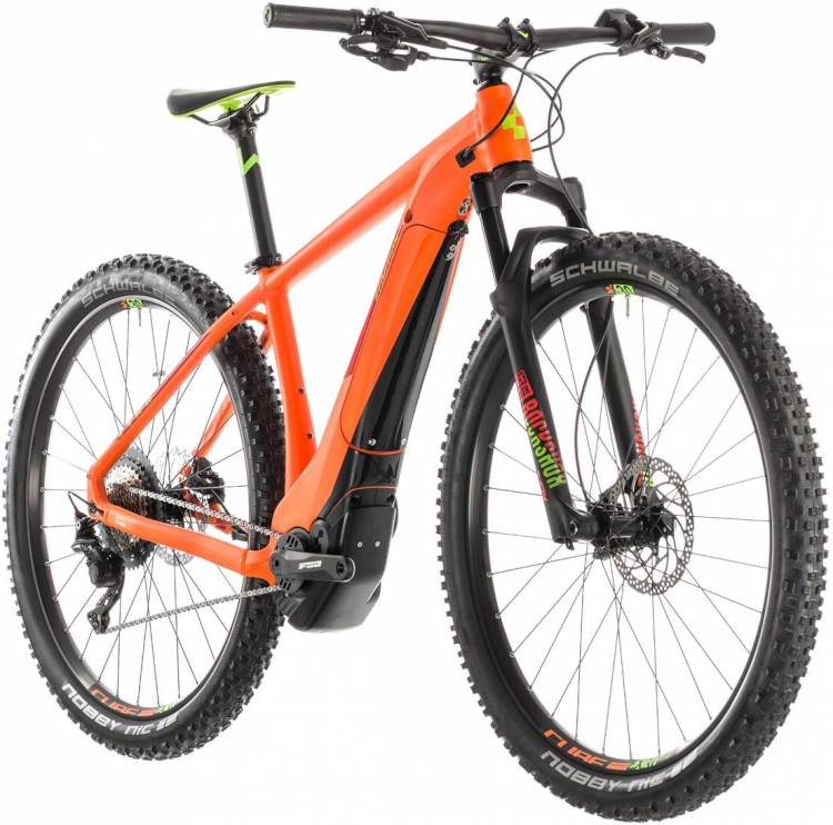 Cube Reaction Hybrid SL 500 KIOX orange n green 2019