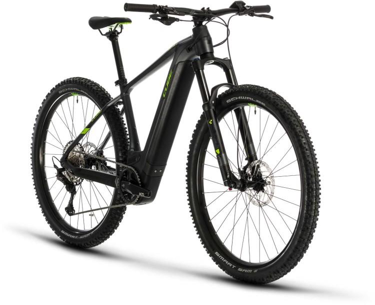 Cube Reaction Hybrid EXC 625 29 iridium n green 2020 - E-Bike Hardtail Mountainbike