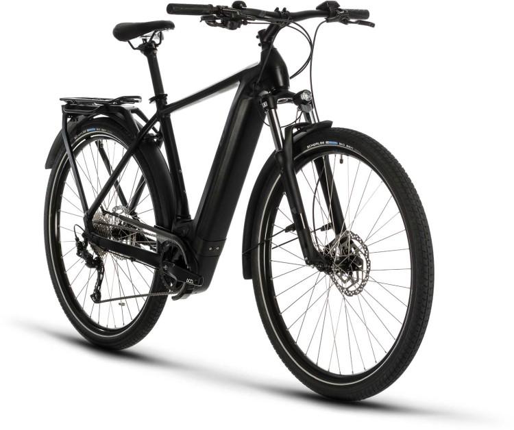 Cube Kathmandu Hybrid ONE 500 black n grey 2020 - E-Bike Trekkingrad Herren