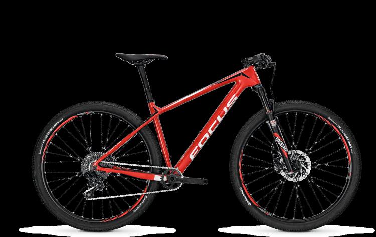 Focus Raven Evo 29 red/white 2017 - Hardtail Mountainbike