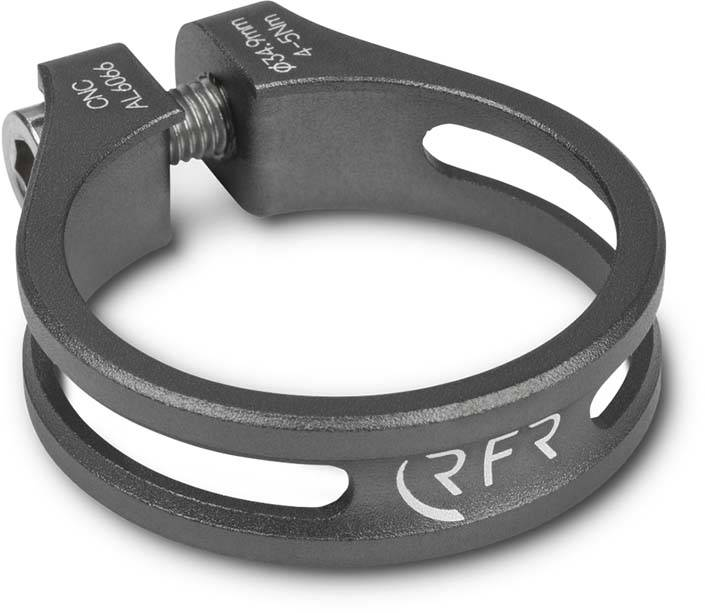 RFR Sattelklemme Ultralight 34,9 mm grey
