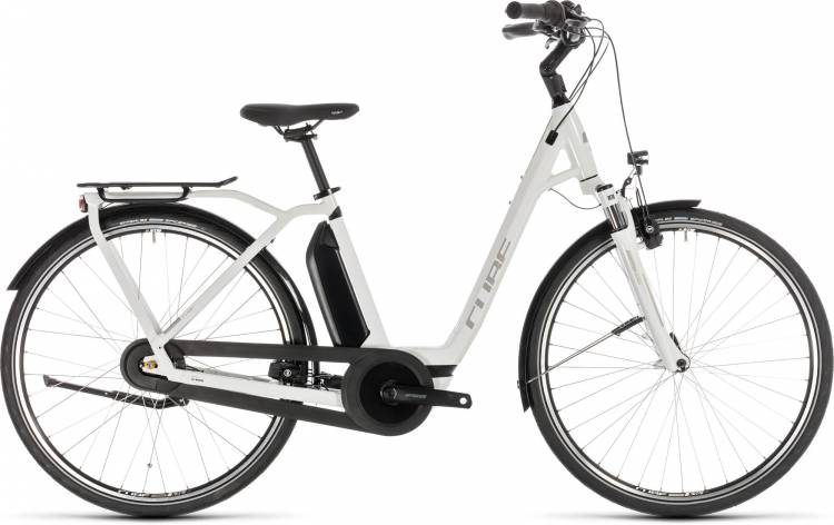 Cube Town Hybrid Pro 500 white n silver - Easy Entry 2019