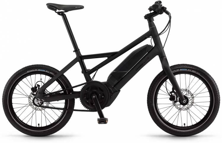 "Winora radius plain 400Wh 20"" 3-G iMotion schwarz matt/glanz 2017 - Herren E-Bike Fitnessrad"