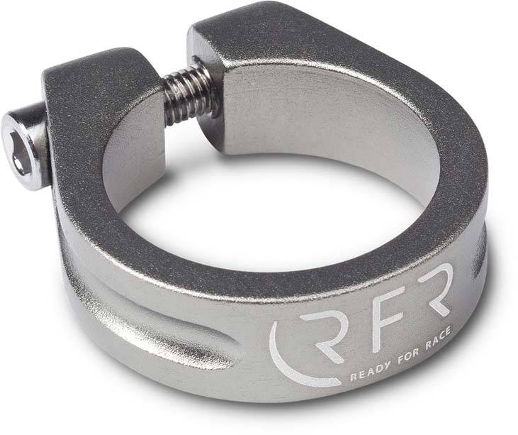 RFR Sattelklemme 31,8 mm grey