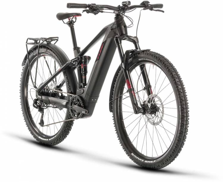 Cube Stereo Hybrid 120 Pro 500 Allroad 29 black n red 2020 - E-Bike Fully Mountainbike
