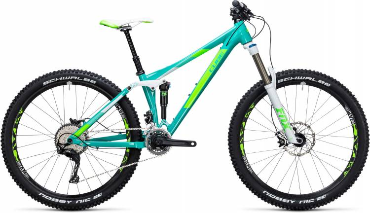 Cube Sting WLS 140 Race 27.5 2x mint n green 2017