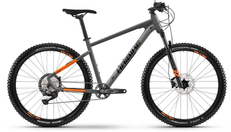 Haibike Seet 10 titan/lava matt 2021 - Hardtail Mountainbike