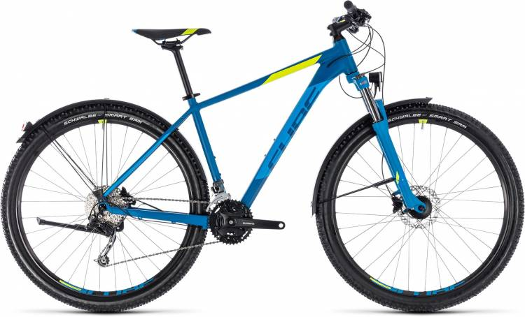 Cube Aim SL Allroad blue n flashyellow 2018 - Hardtail Mountainbike