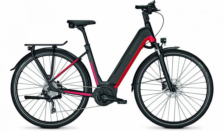 Kalkhoff Endeavour 5.B Move racingred/magicblack matt (Wave) 2020 - E-Bike Trekkingrad Tiefeinsteige
