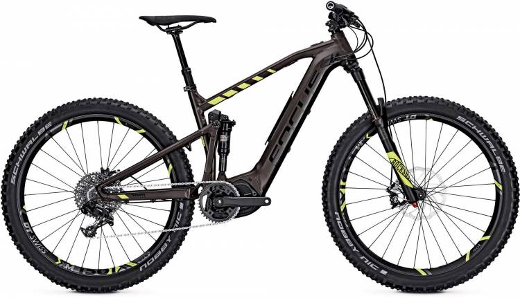 Focus Jam2 Factory Plus 27 brown 2017 - E-Bike Fully Mountainbike
