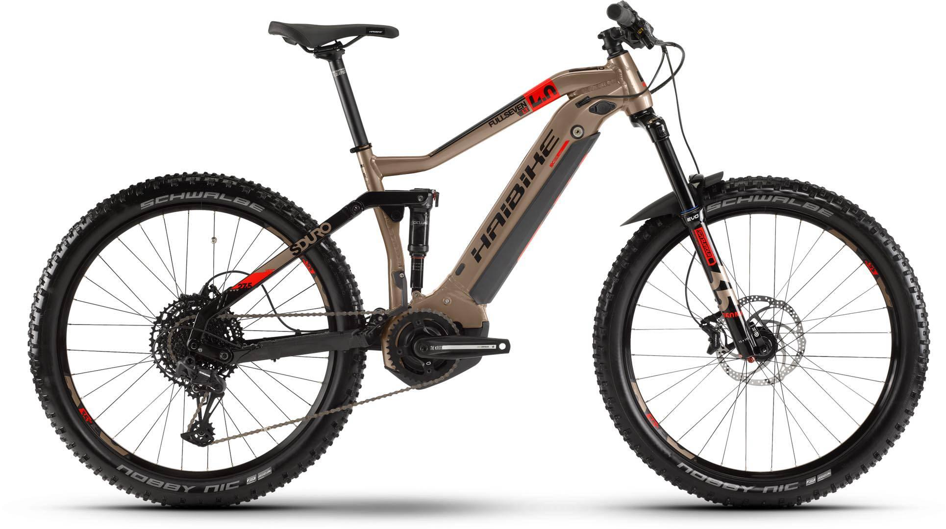 haibike sduro fullseven lt 4 0 500wh metallic rot schwarz 2020 e bike mountainbike fully. Black Bedroom Furniture Sets. Home Design Ideas