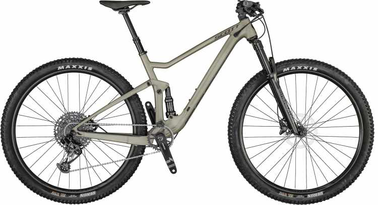 Scott Spark 950 smoked raw alloy 2021 - Fully Mountainbike