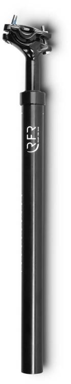 RFR gefederte Sattelstütze (60 - 90 kg) black - 31.6 mm x 400 mm