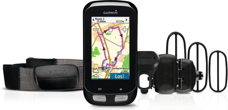 Garmin Edge® 1000 Bundle (inkl. Brustgurt, Geschwindigkeits- und Trittfrequenzsensor)