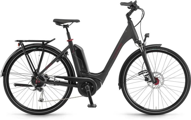 Winora Tria 9 500Wh schwarz matt - Easy Entry 2020
