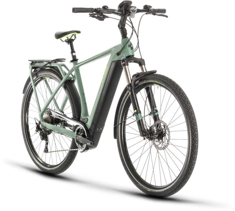Cube Kathmandu Hybrid EXC 500 green n green 2020 - E-Bike Trekkingrad Herren