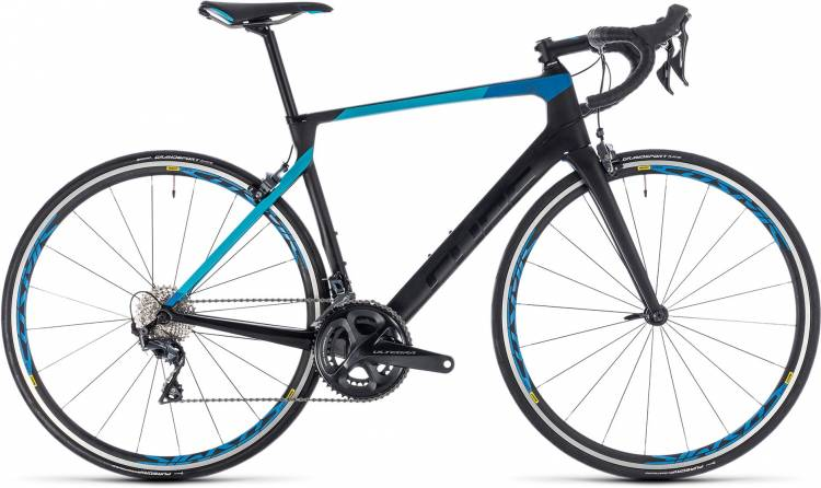 Cube Agree C:62 Pro carbon n blue 2018 - Herren Carbon Rennrad