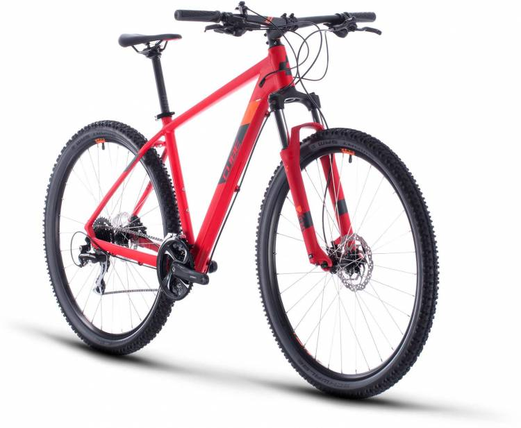 Cube Aim Race red n orange 2020 - Hardtail Mountainbike
