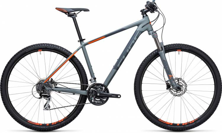 Cube Aim Race 27.5/29 grey n flashorange 2017 - Hardtail Mountainbike