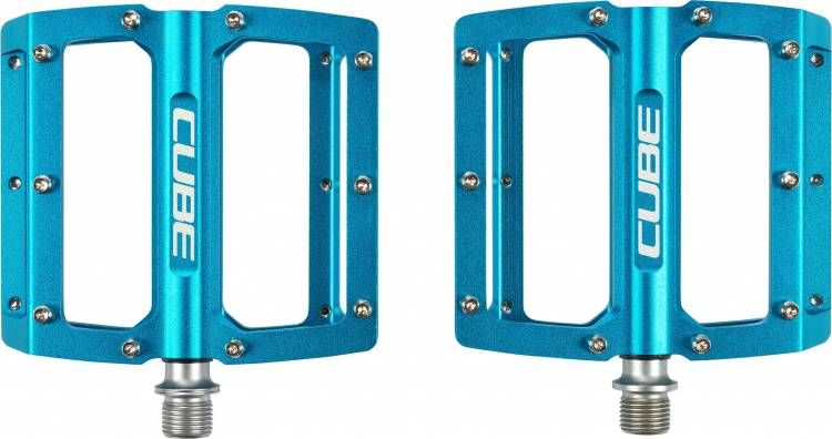 Cube Pedale ALL MOUNTAIN - Blau
