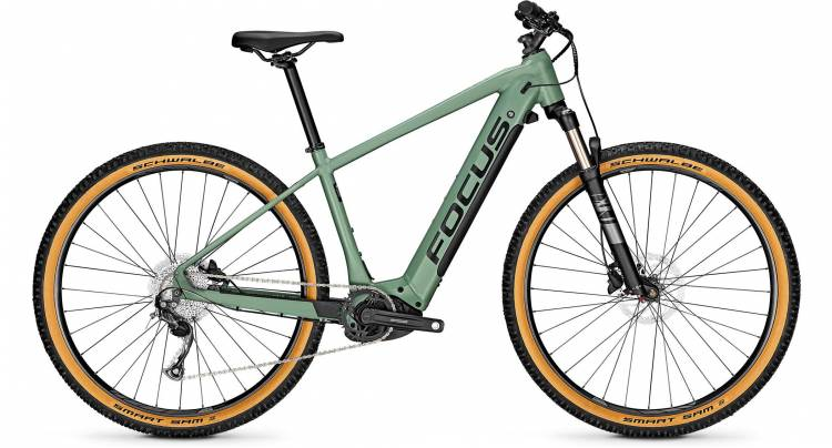 Focus Jarifa2 6.7 Nine Mineral Green 2021 - E-Bike Hardtail Mountainbike