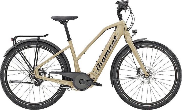 Diamant Opal+ Gor Almandinbeige 2020 - E-Bike Trekkingrad Damen