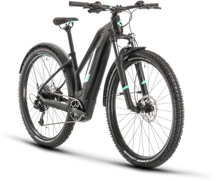 Cube Access Hybrid Pro 500 Allroad black n mint 2020 - E-Bike Hardtail Mountainbike Damen