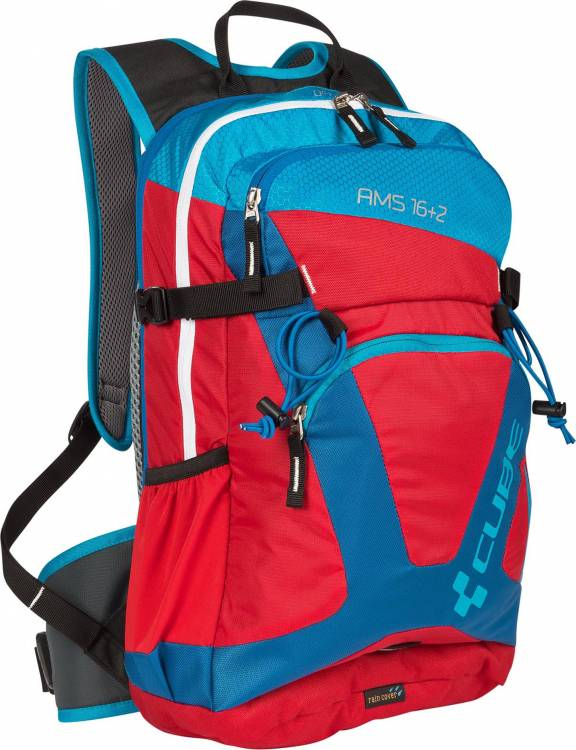 Cube Rucksack AMS 16+2 Volumen: 16+2 Liter blue/red