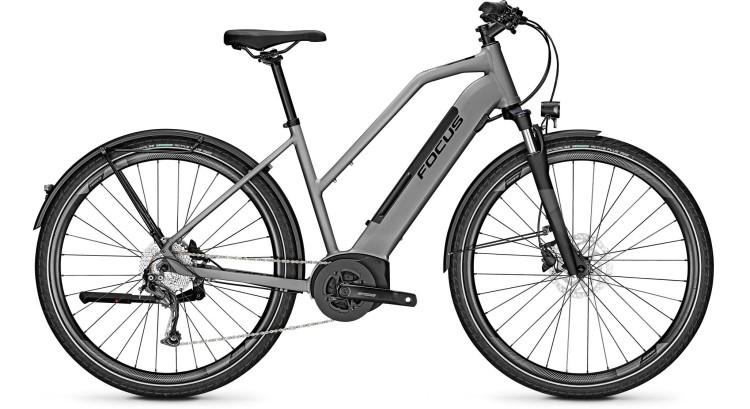 Focus Planet2 5.9 Toronto Grey 2020 - E-Bike Trekkingrad Damen