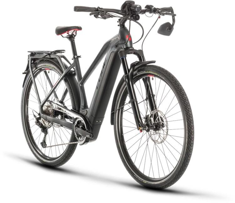 Cube Kathmandu Hybrid 45km/h 625 iridium n red 2020 - E-Bike Trekkingrad Damen