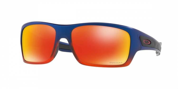 Oakley Turbine Orange Pop Fade / Prizm Ruby