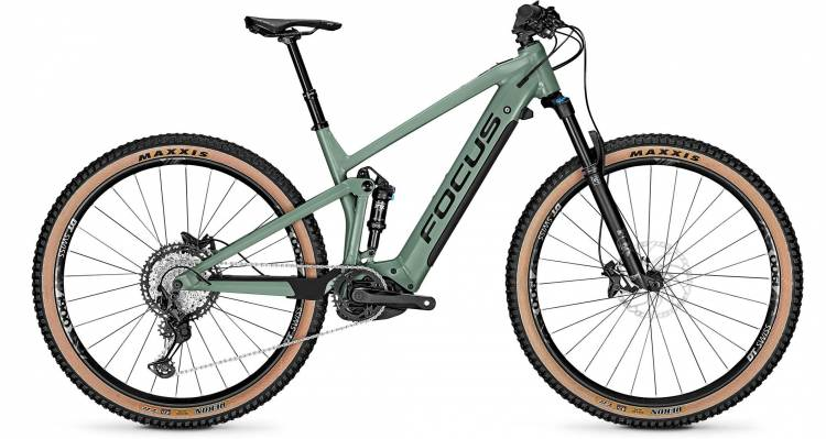 Focus Thron2 6.9 Mineral Green 2020 - E-Bike Fully Mountainbike
