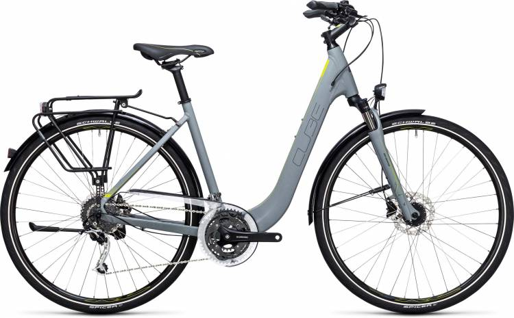 Cube Touring EXC grey n lime Easy Entry 2017
