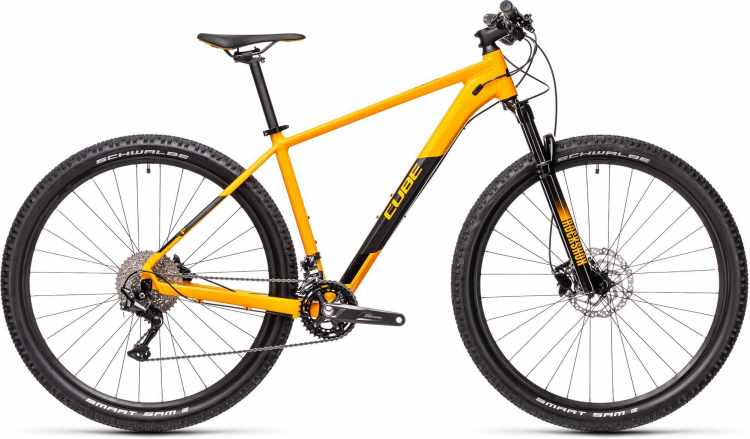 Cube Attention amber n black 2021 - Hardtail Mountainbike