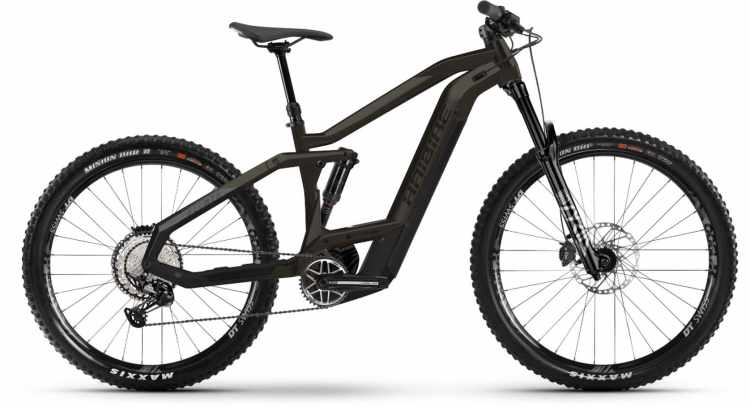 Haibike AllMtn 5 i625Wh black/titan mat./glos. 2021 - E-Bike Fully Mountainbike