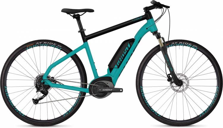 Ghost Hybride Square Cross B1.8 AL U electricblue / jetblack - Herren 2019