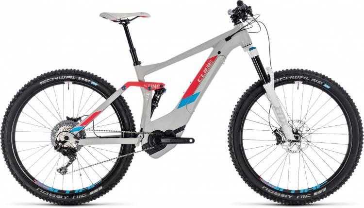 Cube Sting Hybrid 140 SL 500 27.5 team ws 2018 - Damen E-Bike Fully Mountainbike
