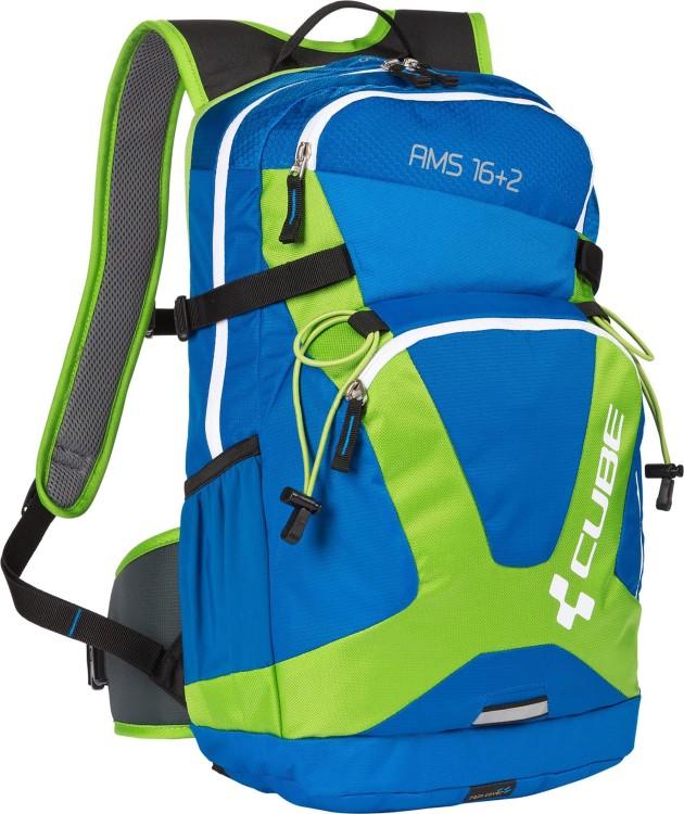 cube rucksack ams 16 2 volumen 16 2 liter blue green. Black Bedroom Furniture Sets. Home Design Ideas