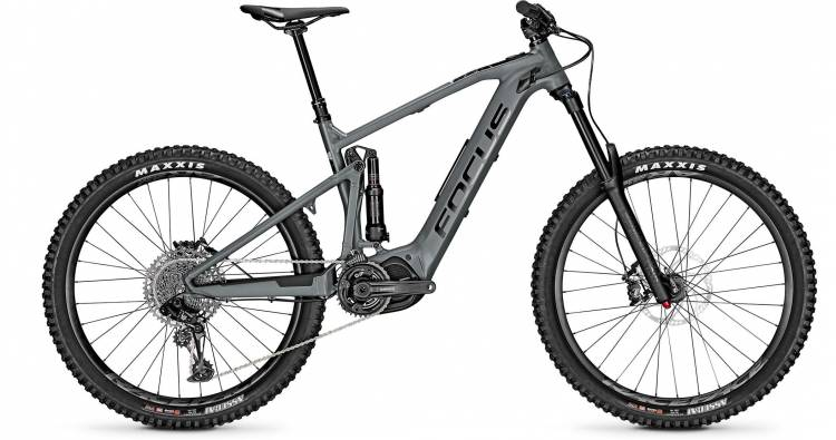 Focus Focus Sam2 6.7 Slate Grey 2020 - E-Bike Fully Mountainbike
