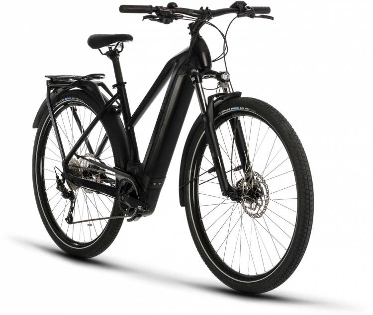 Cube Kathmandu Hybrid ONE 500 black n grey 2020 - E-Bike Trekkingrad Damen
