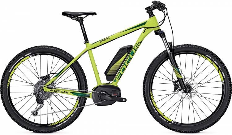 Focus Jarifa 27 Plus green 2017 - E-Bike Hardtail Mountainbike