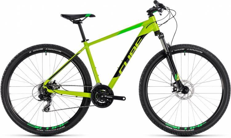 Cube Aim kiwi n black 2018 - Hardtail Mountainbike