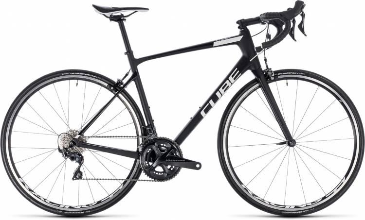 Cube Attain GTC SL carbon n white 2018 - Herren Carbon Rennrad