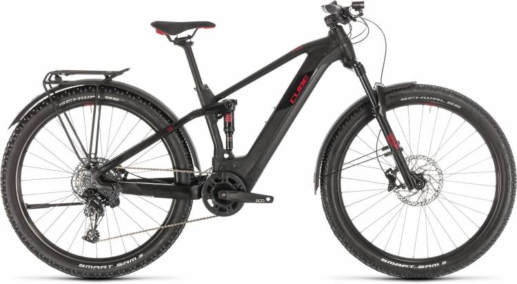Cube Stereo Hybrid 120 Pro 625 Allroad 29 black n red 2020 - E-Bike Fully Mountainbike